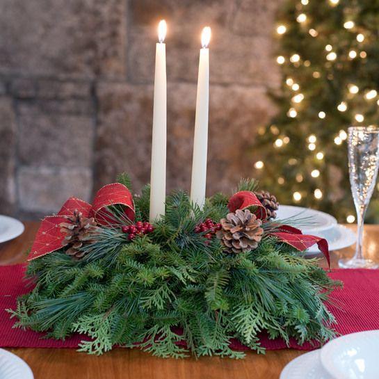 Winter Harbor Centerpiece Holiday Centerpieces Christmas Centerpieces Christmas Table Centerpieces