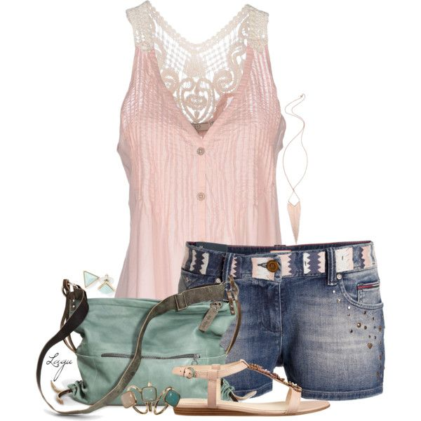 Almost Summer, created by lagu on Polyvore