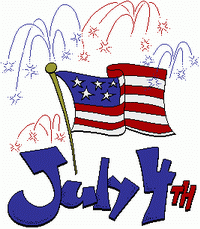 4th of july independence day. Free th clipart graphics