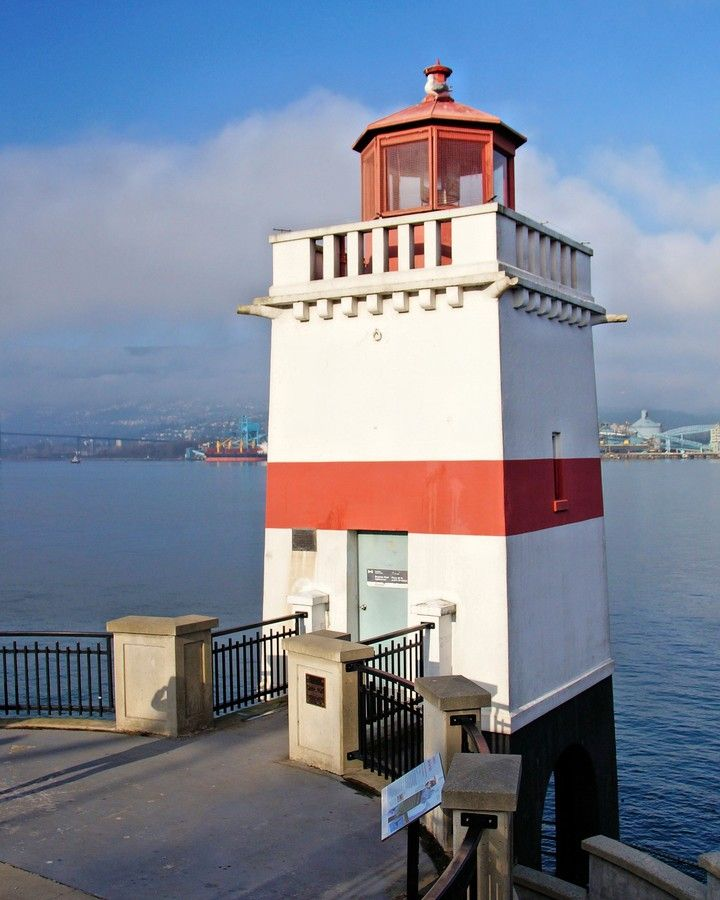 Brockton Point #Lighthouse by David Brown on 500px - British Columbia, #Canada http://www.roanokemyhomesweethome.com