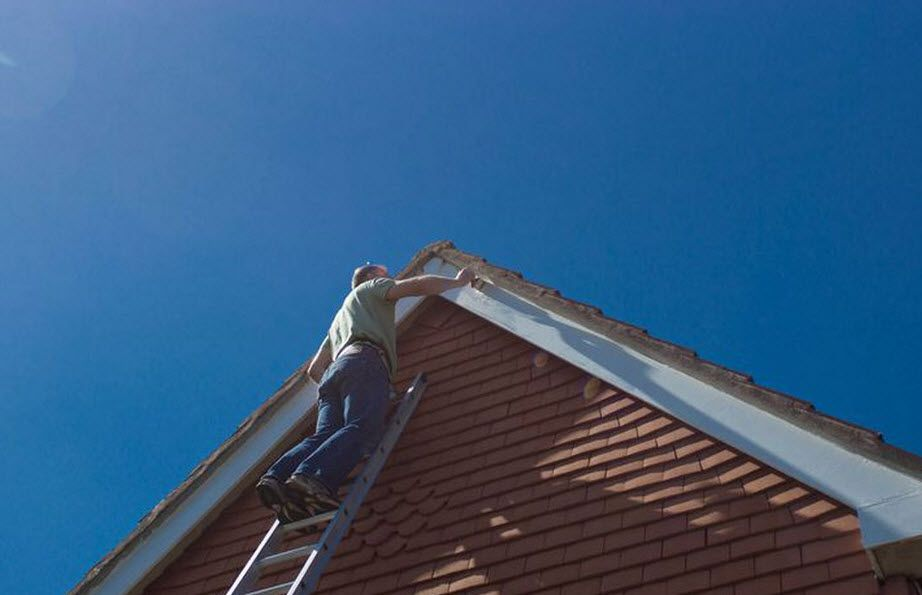 High Class Roofing Have Skilled Roofers To Carry Out Terracotta Roofpainting Who Only Use High Quality Paint To Ensure Long Life A Roof Maintenance Roof