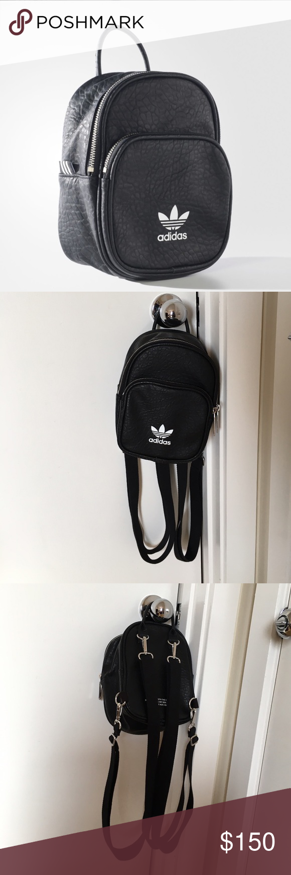 6c9a872b56 Adidas Classic Mini Backpack Sold out everywhere Adidas mini backpack.  Price reflects that. Please