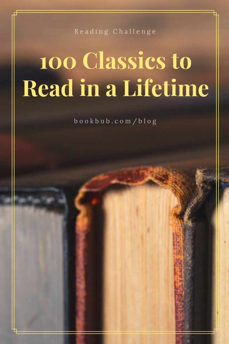 Reading Challenge 100 Classics to Read in a Lifetime is part of Classics to read, 100 books to read, Classic books, Reading challenge, Book club books, Lds books - How many of these books have you read