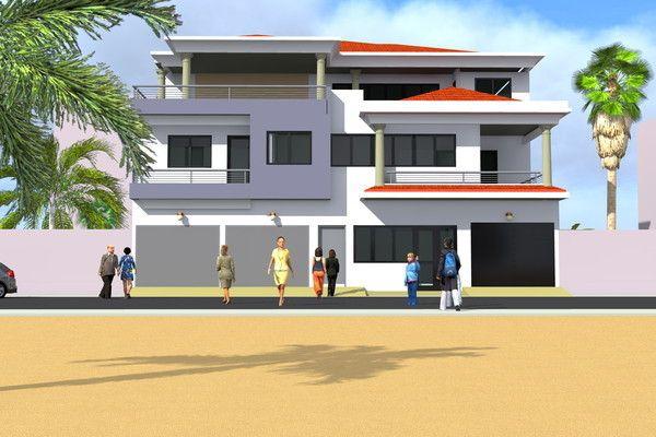 Projet d'Extension d'une Villa a Ouagadougou Burkina-Faso