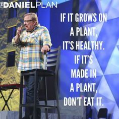 daniel plan foods to avoid - Google Search