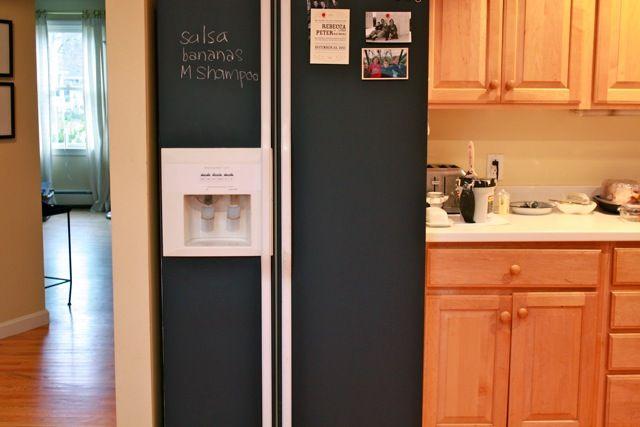 Paint It Black Basic Joy White Fridges White Refrigerator Paint Refrigerator