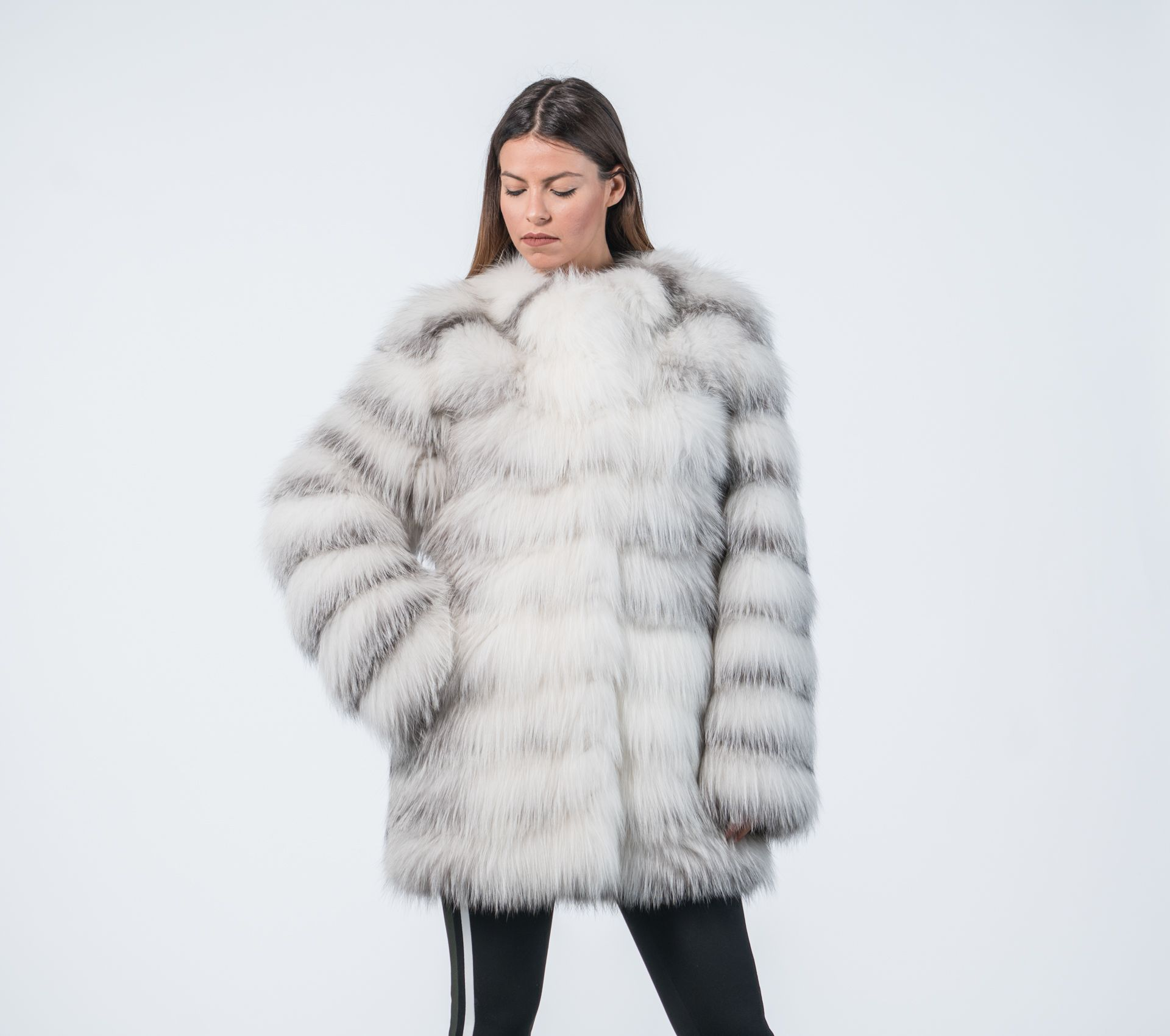 ebf1e3ce2 Fox Marble Fur Coat. #fox #fur #jacket #real #style #realfur #naturalfur  #elegant #haute #luxury#chic #outfit #women #classy #online #store