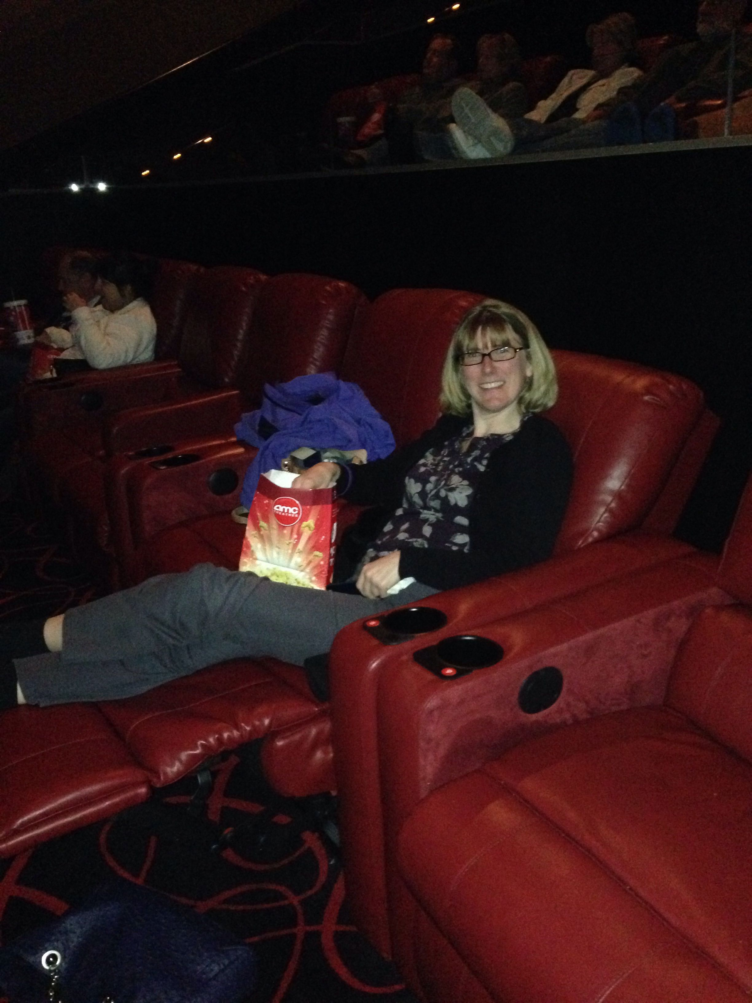 Awesome theater seats