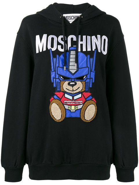4d197be0ade5 MOSCHINO Transformer Teddy Hoodie.  moschino  cloth  hoodie ...