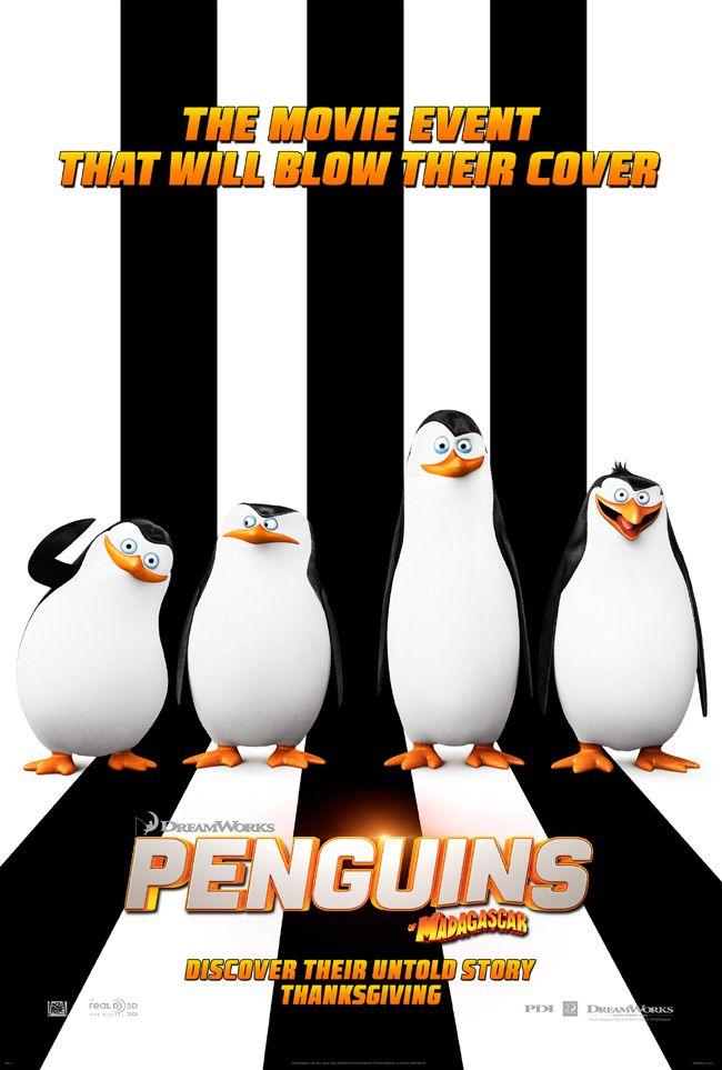 Win Advance Screening Movie Passes To The New Animated Comedy Penguins Of Madagascar With John Malko Pinguins De Madagascar Filmes Online Legendados Pinguins