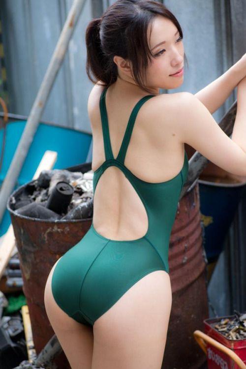 Asian green bikini