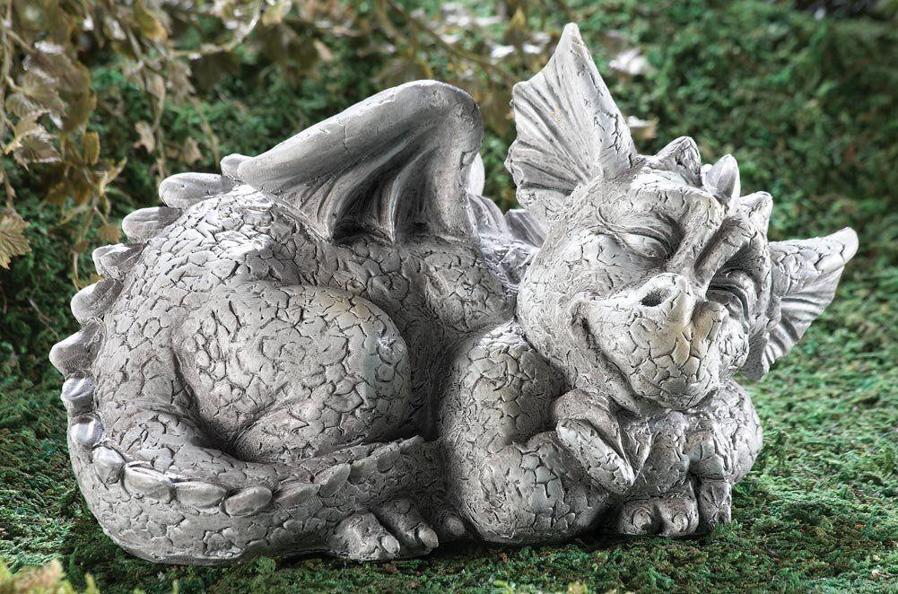 Ordinaire Dragon Garden Sculpture: Large Dragon And Gargoyle Statues