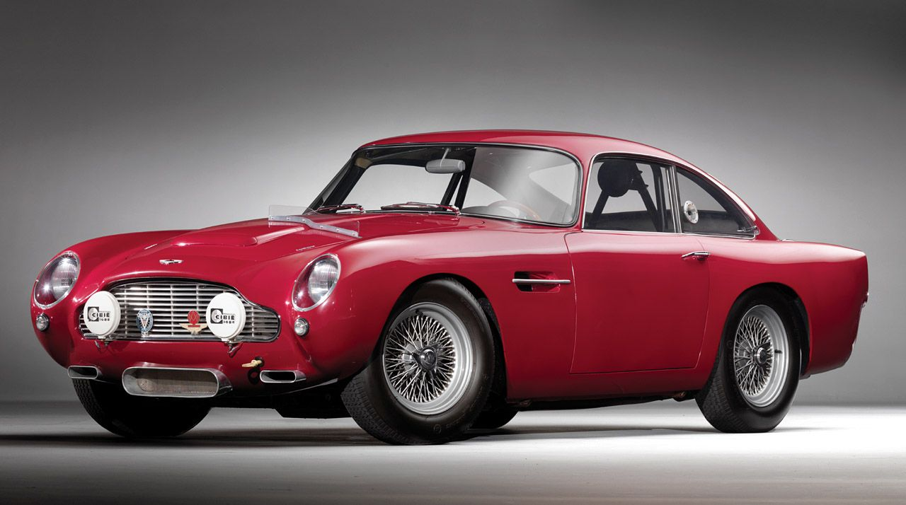 1959 Aston Martin DB4 GT Lightweight