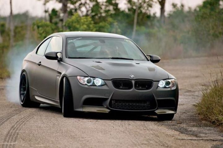 Bmw E92 M3 Matte Grey With Images Bmw Sports Cars Luxury