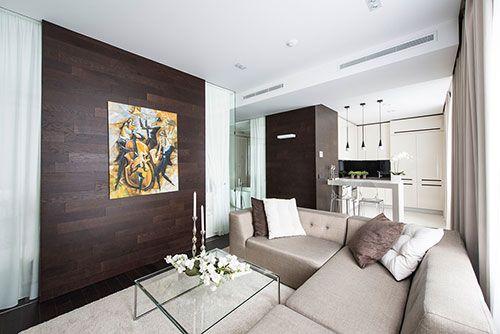 Klein Appartement Inrichting : Moderne interieur inrichting van klein appartement in moskou hotel