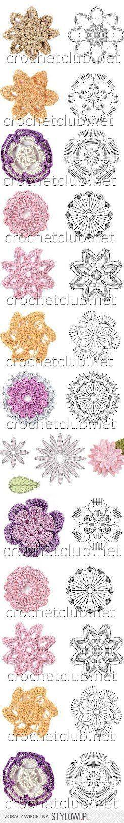 Receitas de Crochet on Stylowi.pl | lavori vari-arredamento ...