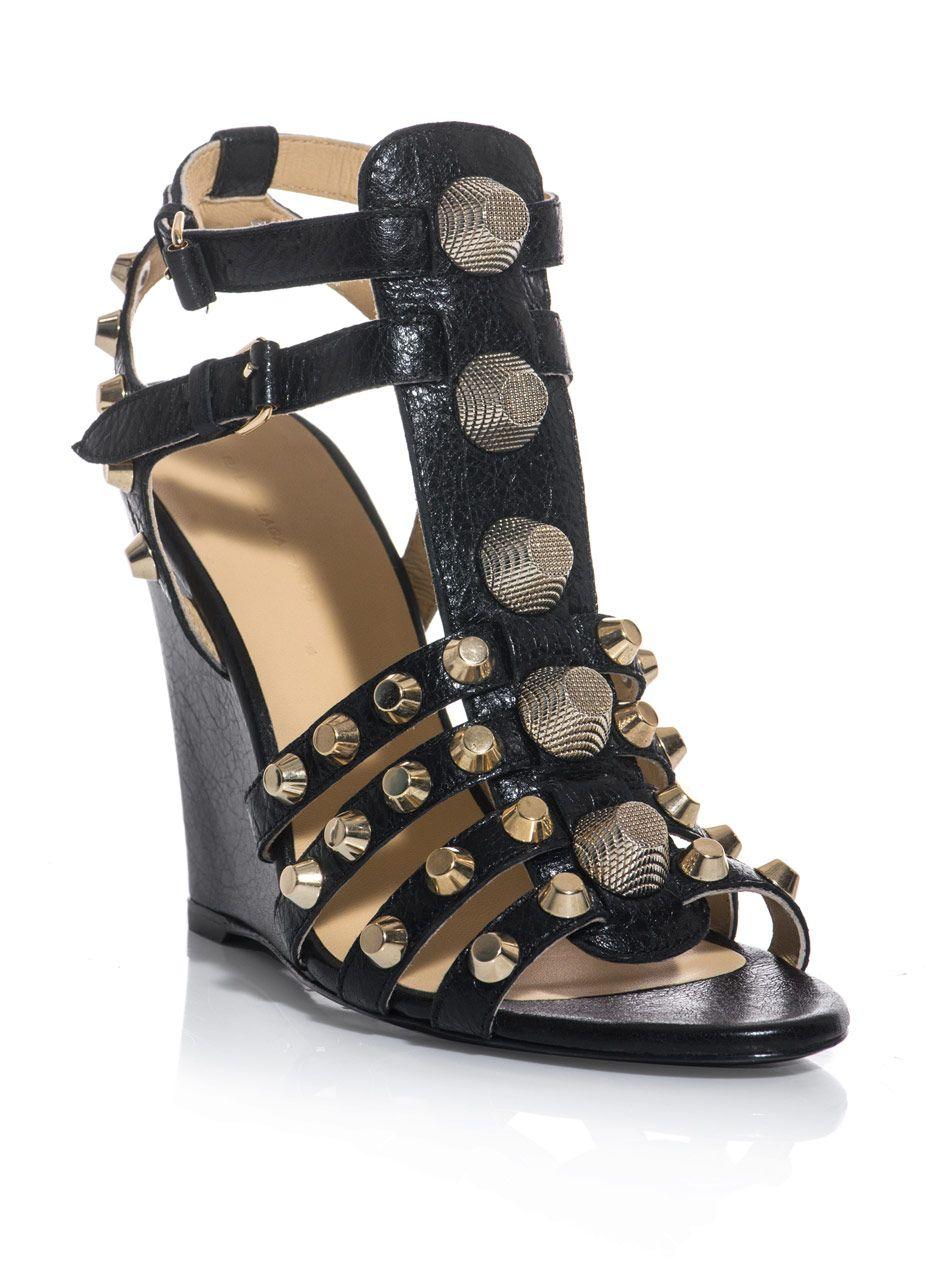 d265c11dacac balenciaga BAL-E-319884-WAD40 shoes BLACK GOLD