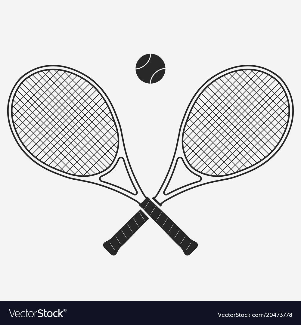 Tennis Racket And Ball Royalty Free Vector Image Sponsored Ball Racket Tennis Royalty Ad In 2020 Vector Free Logo Set Free Vector Images