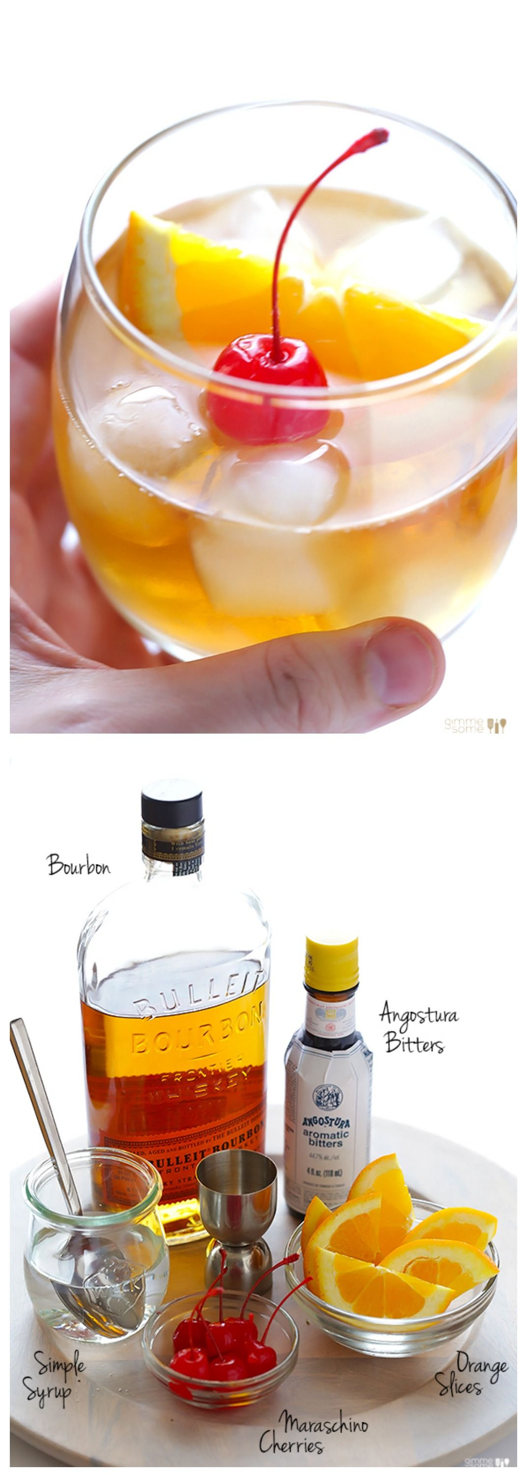 Old Fashioned Recipe Gimme Some Oven Recipe Bourbon Drinks Yummy Drinks Old Fashioned Recipes