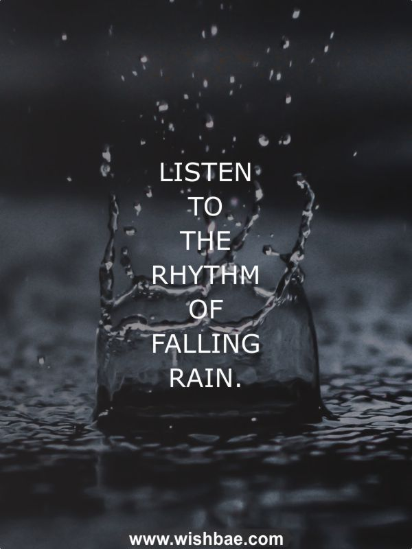 Rain Quotes and Sayings Romantic, Beautiful, Funny