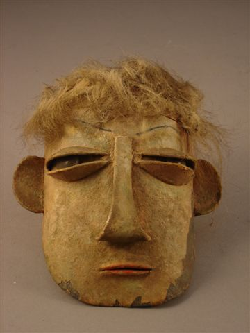 """This doll head by Marie Vassilieff was presented as """"part of a doll"""", where is the body gone (if it ever existed) ?"""