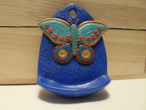 Hanging Butterfly Ring Holder