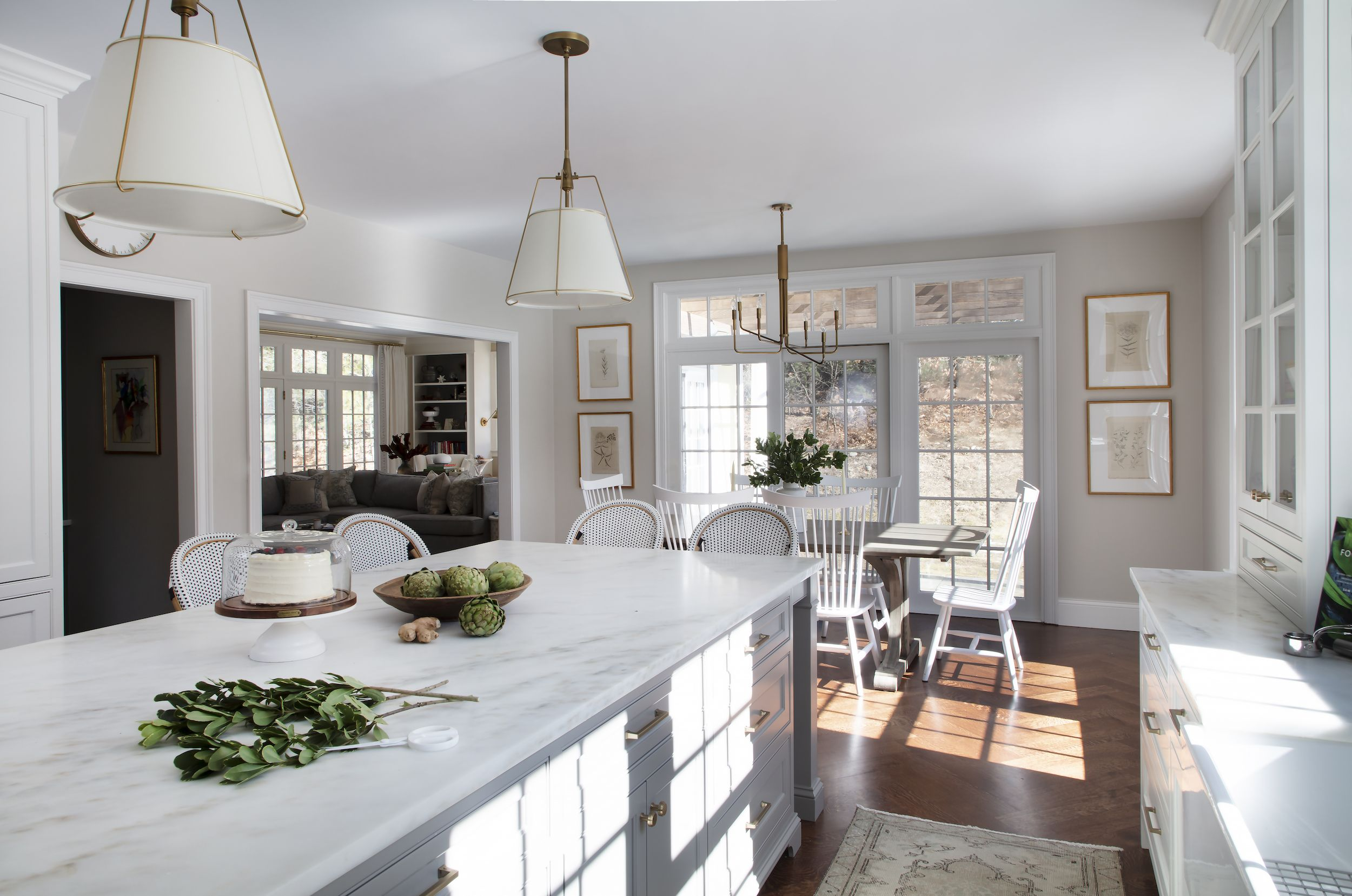 This Dreamy Family Kitchen Is A Storage Oasis Simple Kitchen Remodel Kitchen Remodel Kitchen Renovation