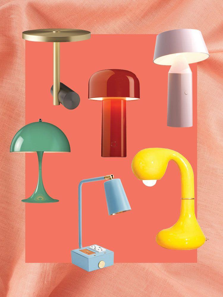 Desk Lamp Colorful Lamps, Colorful Desk Lamps