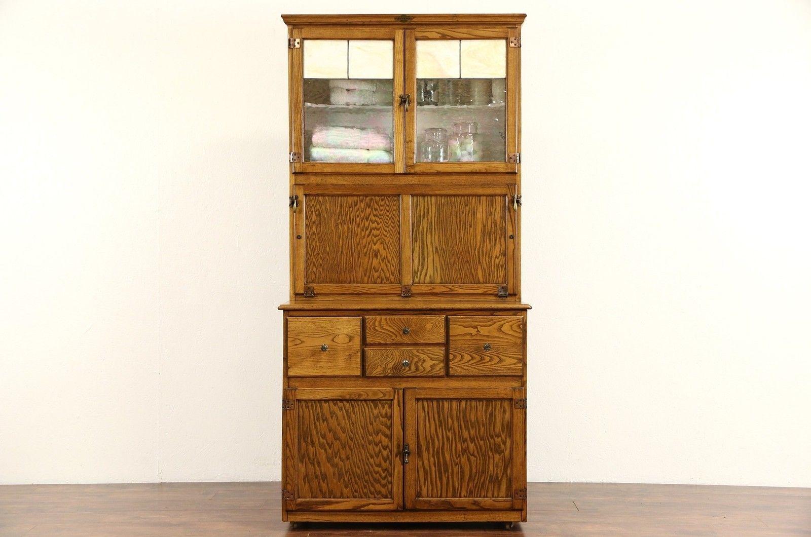 Hygena English 1930 S Oak Vintage Hoosier Kitchen Cupboard Or Physician Cabinet Kitchen Cupboards Oak Kitchen Cabinets Hygena