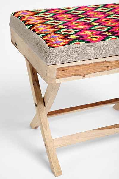 Diamond Print Stool - Urban Outfitters ($198)