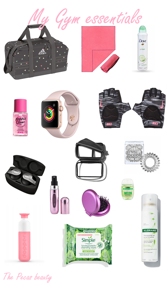 What is in my gym bag #gym #gymbag #beauty #fitness