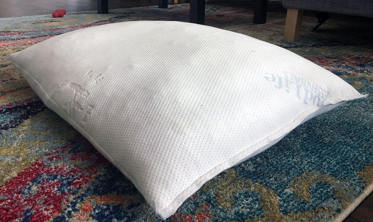 Good life essentials shredded memory foam pillow review