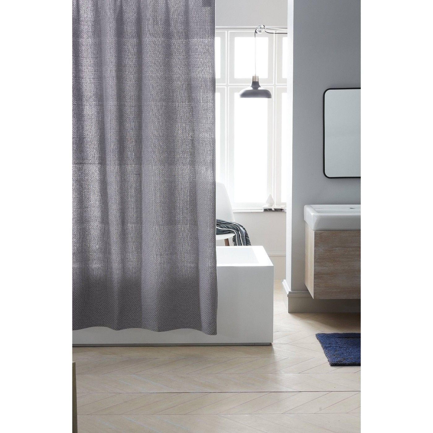 Mosaic Design Shower Curtain Pigeon Gray Project 62 In 2020 Mosaic Designs Cotton Shower Curtain Curtains