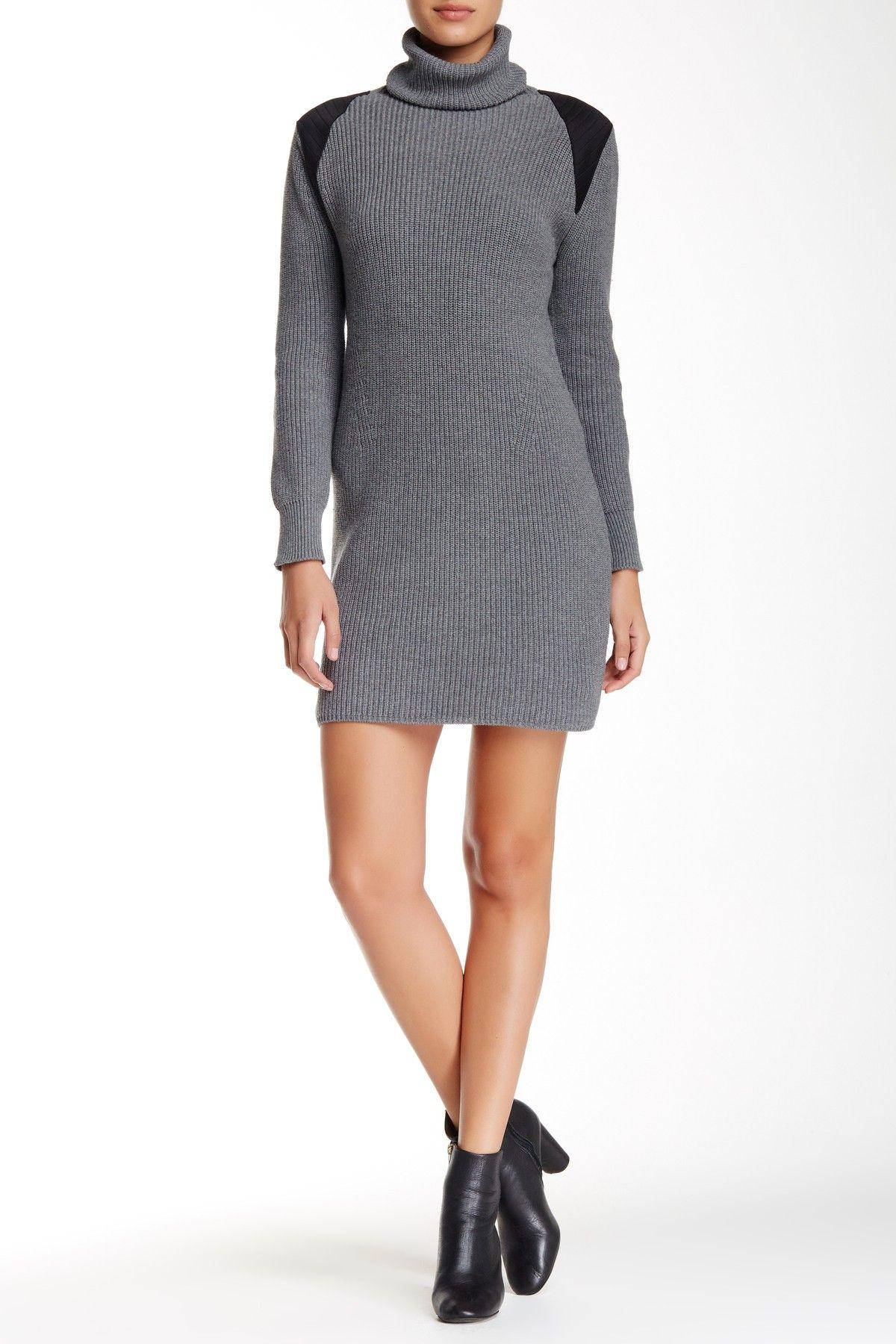 Contrast Trim Knit Dress by 525 America on @HauteLook