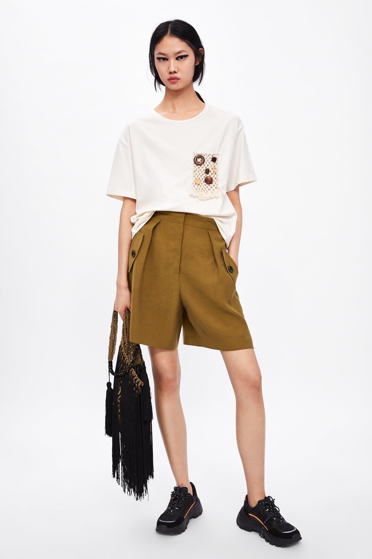 t shirt zara femme 2019