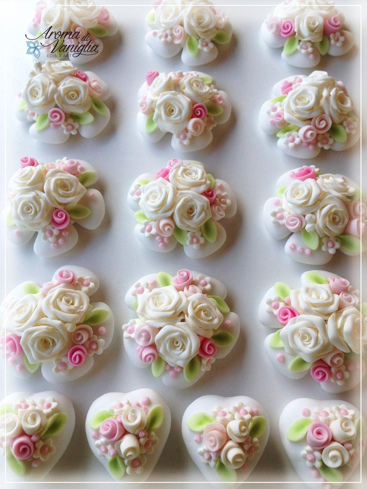 Bomboniere Matrimonio Pasta Di Zucchero.Per L Originale Matrimonio Di Mariagiovanna Ecco Pronte