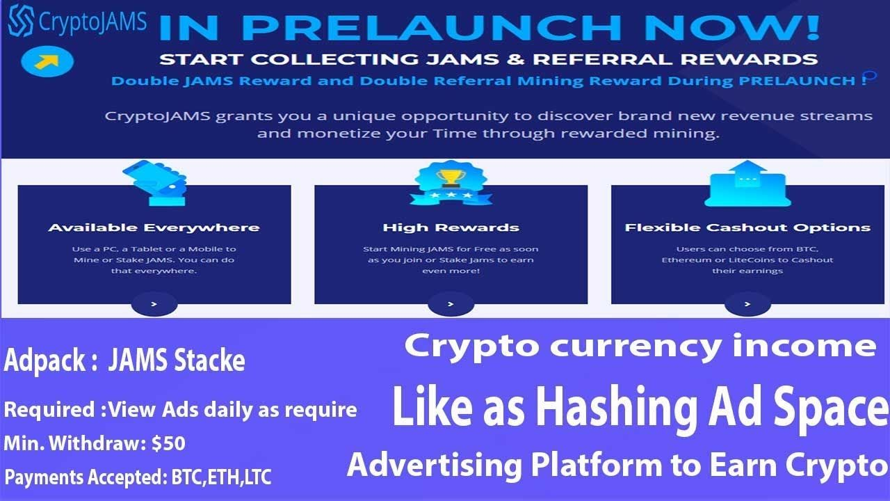 cryptocurrency ad platforms