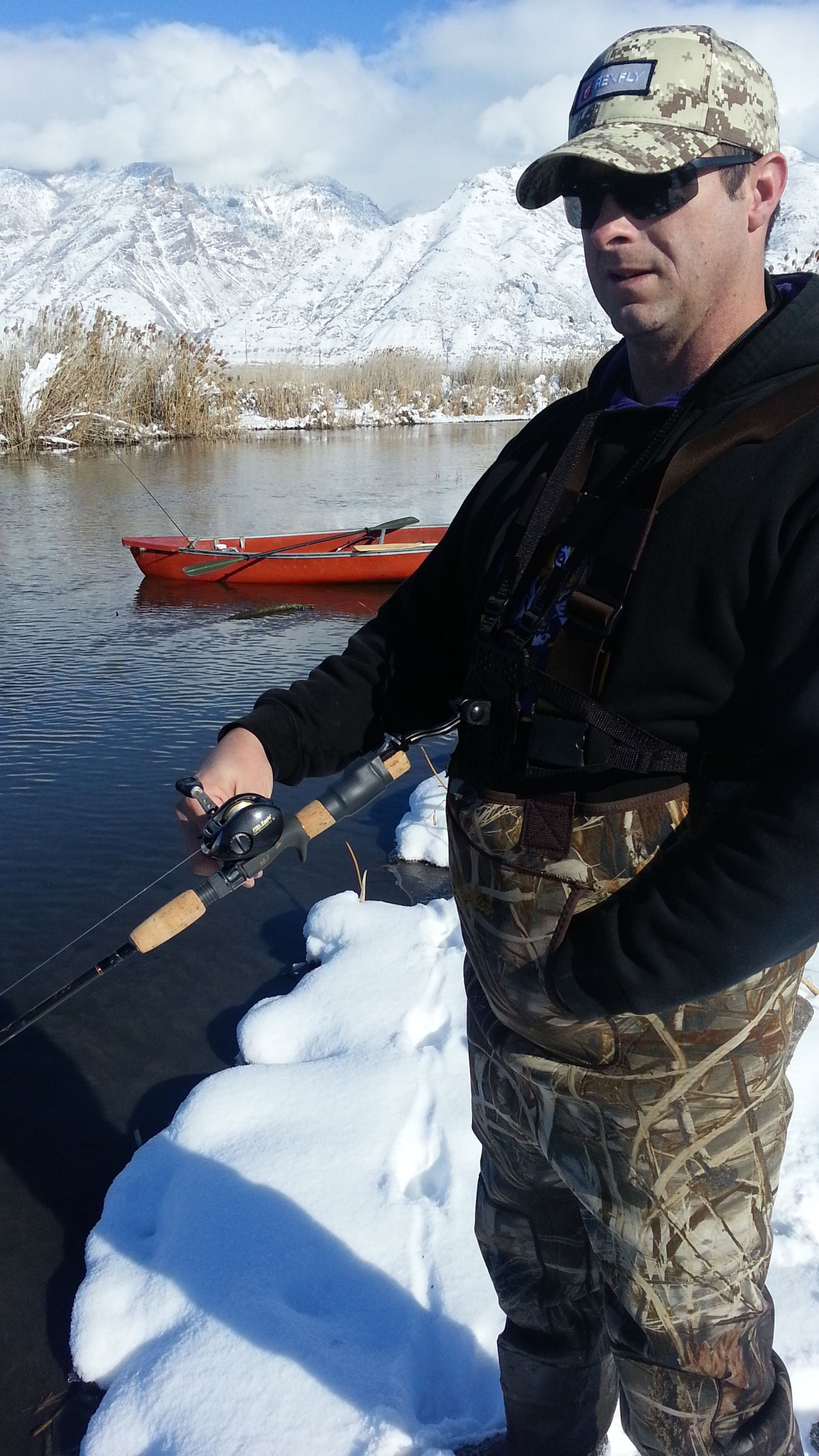how to cast a fly rod in the wind