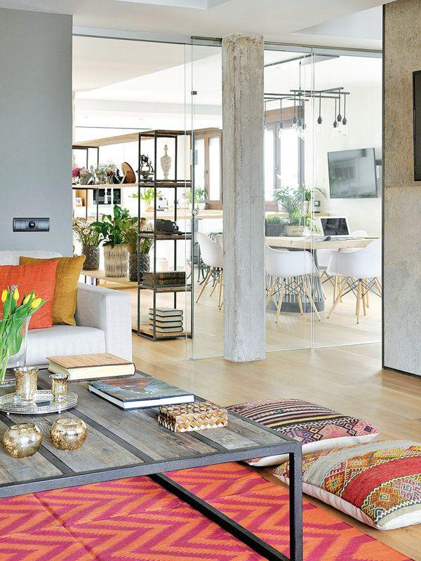 Un apartamento con decoración industrial La revista, Decoración