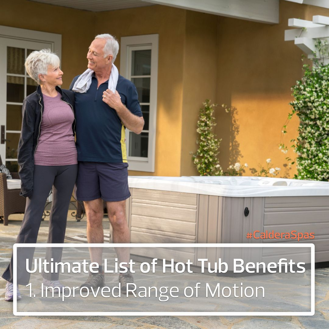The Ultimate List Of Hot Tub Health Benefits Caldera Spas Blog