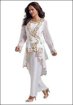 Pant Suit Women for Wedding...This is good start but needs to be ...