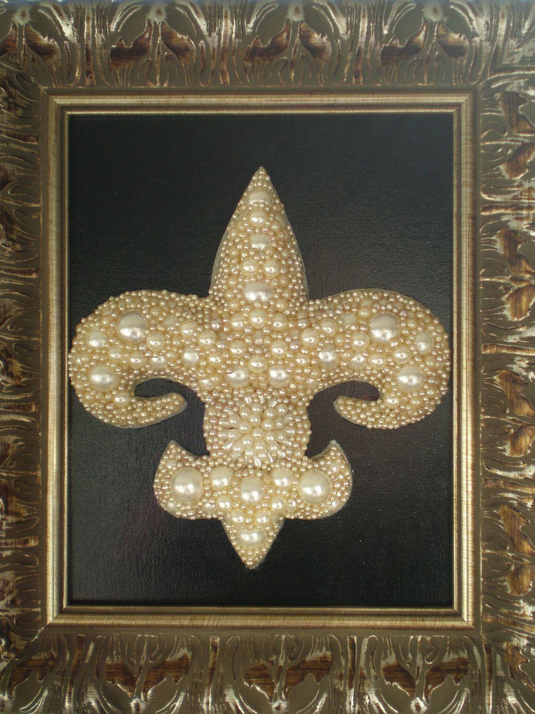 Jeweled Fleur De Lis Art Free Art Art Fleur De Lis