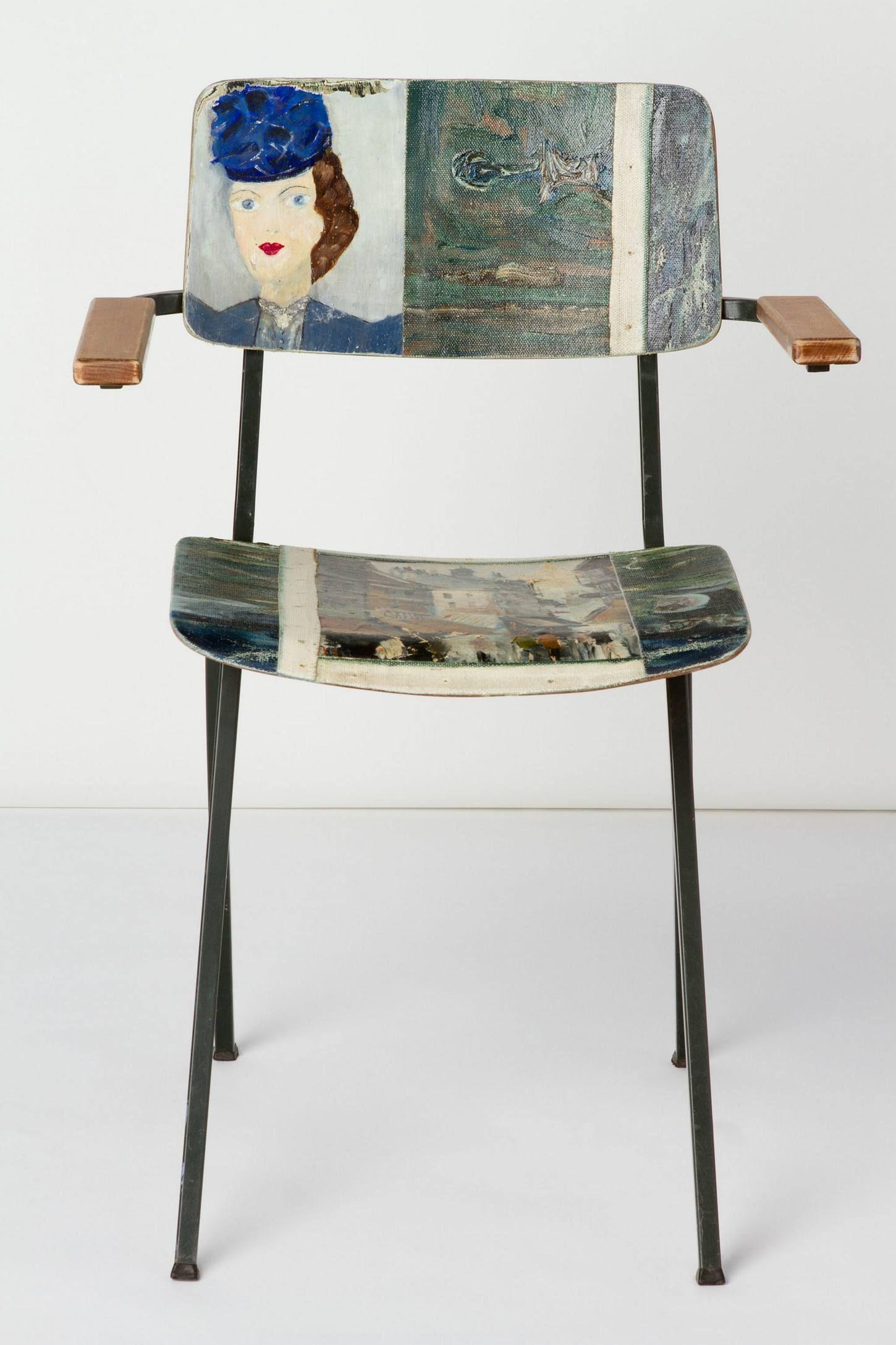 Best Blue Hat Armchair 2010 Anthropologie Com Painted 400 x 300
