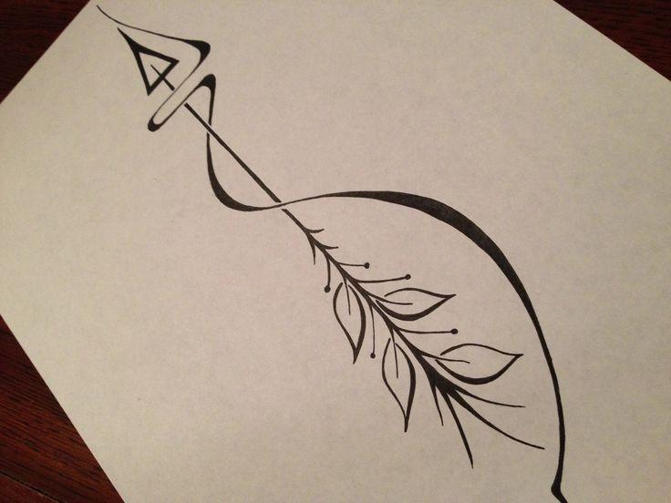 Arrow Tattoo Designs On White Page | Tattoobite.com