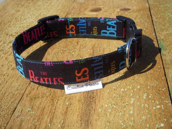 Beatles Mania Dog Collar Critters Pinterest The Beatles Dogs