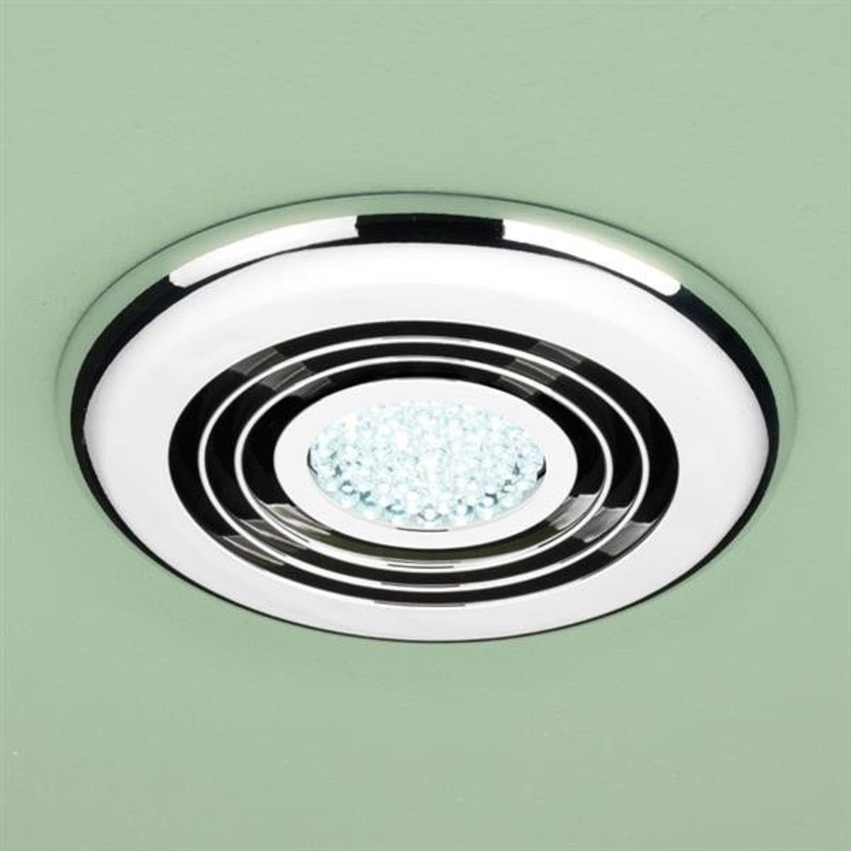 Bathroom Extractor Fan With Led Light