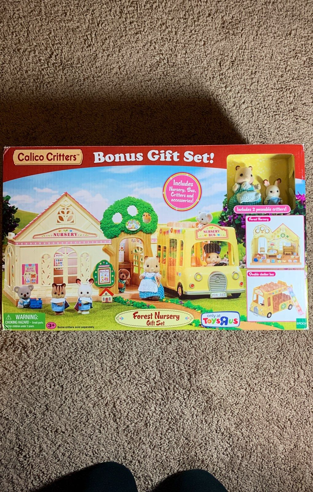 Calico Critters Forest Nursery Gift Set Mercari In 2020 Nursery Gift Forest Nursery Critter