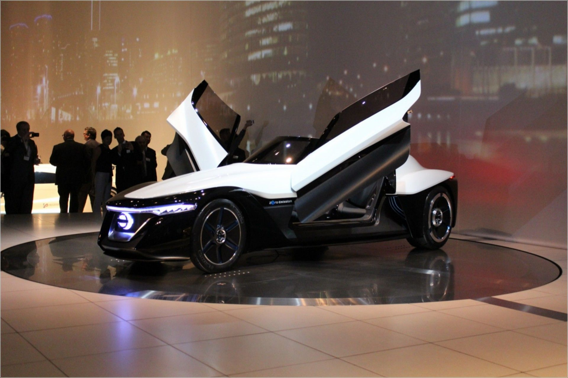 Please The Most Beautiful Electric Car in The