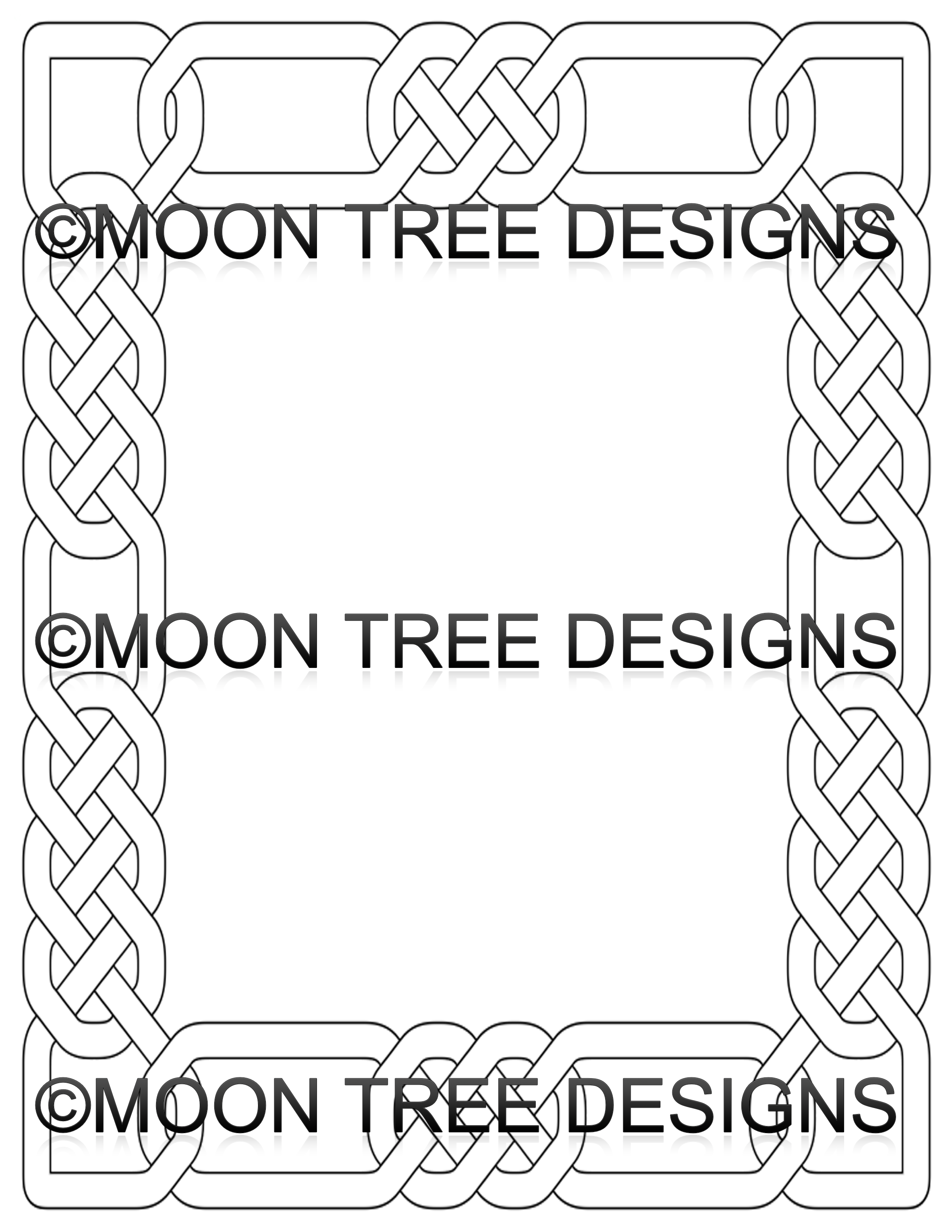 just print and color dimensions 85 x 11 standard letter size output printable and ready to color stationery paperr with celtic borders