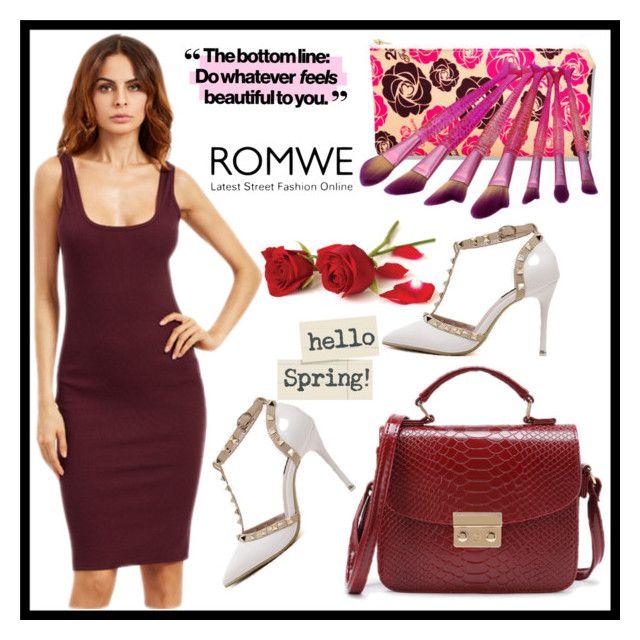 """romwe"" by merisa-imsirovic ❤ liked on Polyvore"